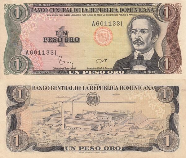 1984-1988 Issue - 1 Peso Oro