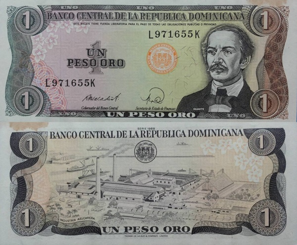 1984-1988 Issue - 1 Peso Oro
