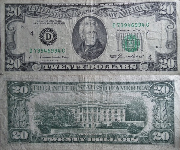 1985 Issue - 20 Dollars