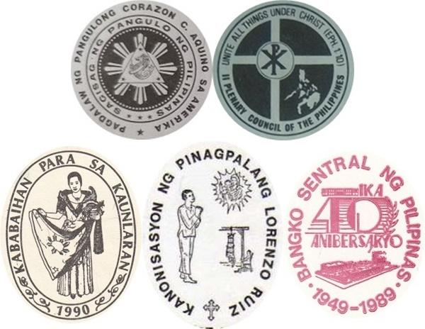 1986-1991 Commemorative Issues