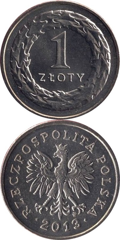1990-2016 Issue - 1 Złoty