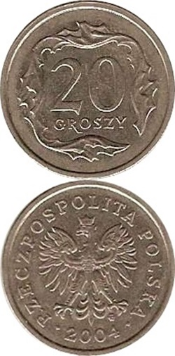 1990-2016 Issue - 20 Groszy