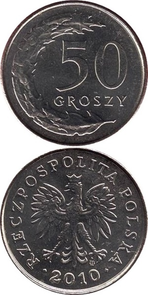 1990-2016 Issue - 50 Groszy