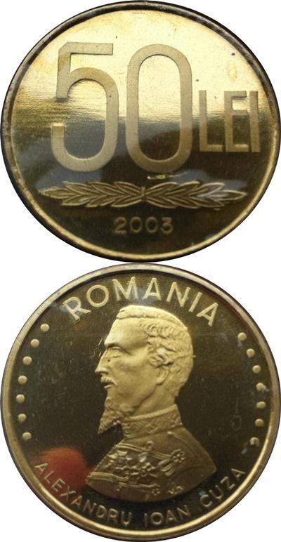 Emisiunea 1991-1996, 2000, 2002-2003 - 50 Lei