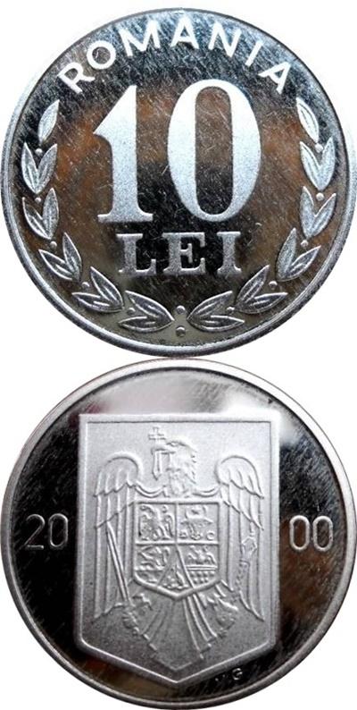 Emisiunea 1993-1996, 2000, 2002-2003 - 10 Lei