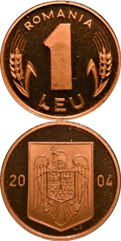 Emisiunea 1993-1996, 2000, 2002-2006 - 1 Leu