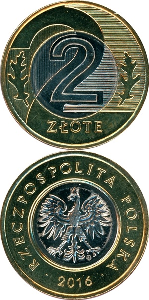 1994-2017 Issue - 2 Złote