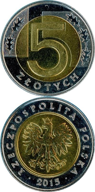1994-2017 Issue - 5 Złotych