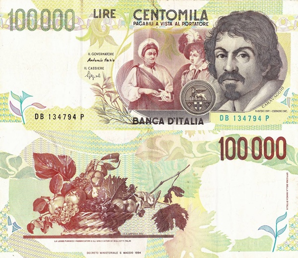Emisiunea 1994 (Banca Italiei - Banca d'Italia: Decreto Ministeriale 06.05.1994)