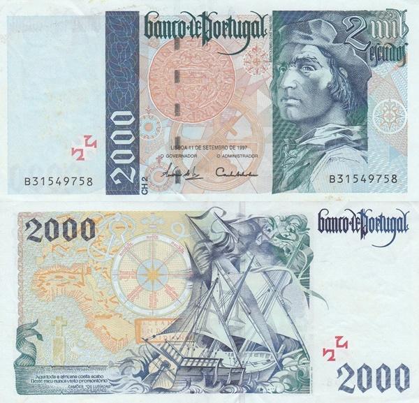 1995-1997, 2000 Issue - 2000 Escudos