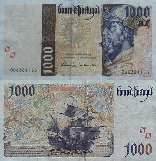 Emisiunea 1996, 1998, 2000 - 1000 Escudos