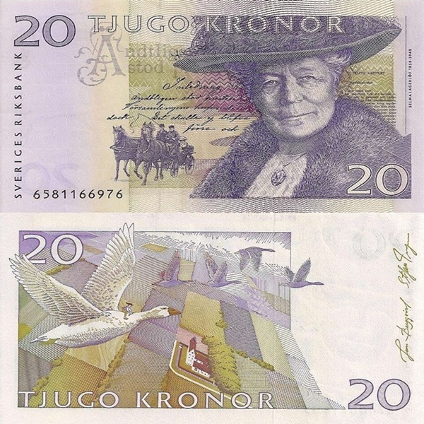 1991-2008 Issues - 20 Kronor