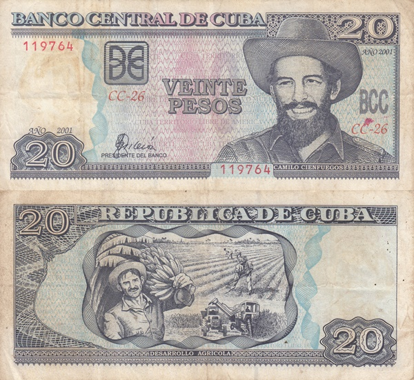 1998-2002 Issue - 20 Pesos