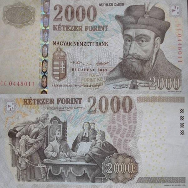 Emisiunea 1998-2013 - 2000 Forint