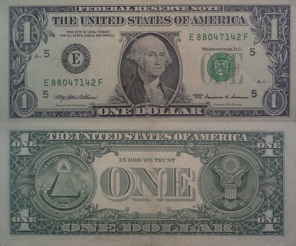 1999 Issue - 1 Dollar