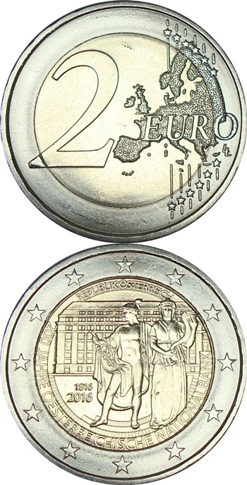 2 Euro - Commemorative 1999-2019