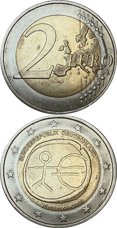 2 Euro - Commemorative (2002 - )