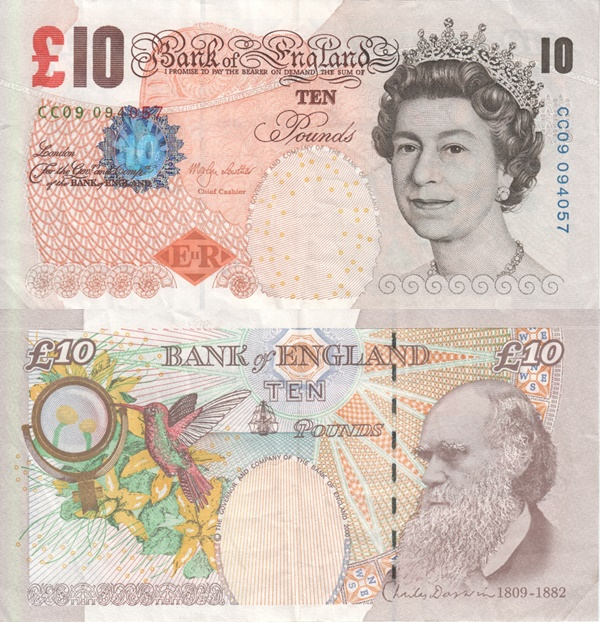 Emisiunea ©2000 (2000-2015) - 10 Pounds (Bank of England)