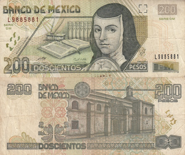 2000-2007 Issue - 200 Pesos