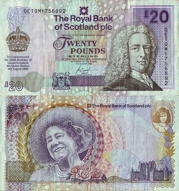 Emisiunea comemorativă 2000 - The Royal Bank of Scotland Plc