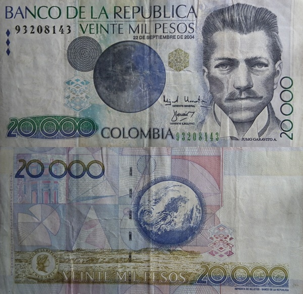 2001-2013 Issue - 20,000 Pesos
