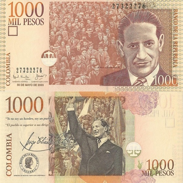 2001-2014 Issues - 1000 Pesos