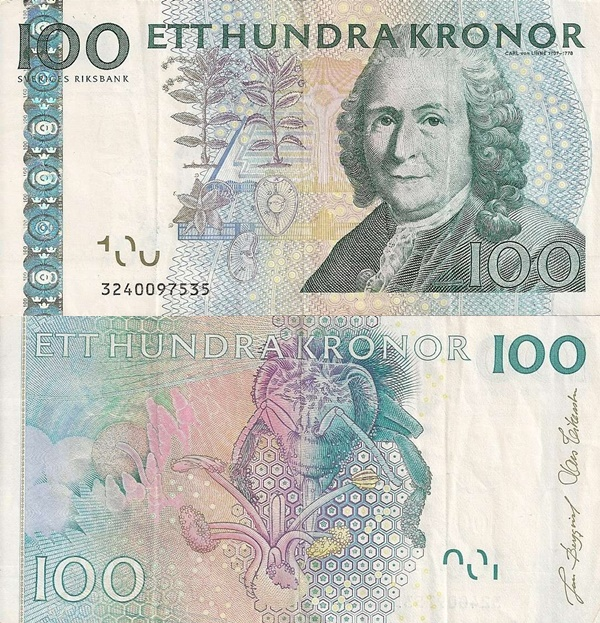 2001-2014 Issue - 100 Kronor