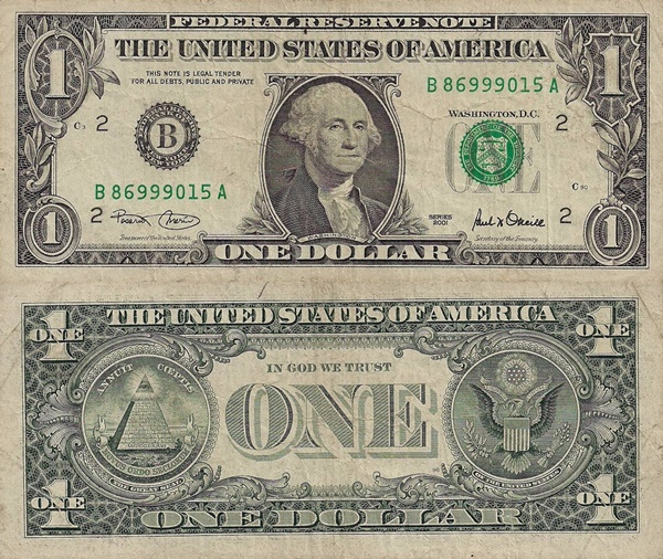 2001 Issue - 1 Dollar