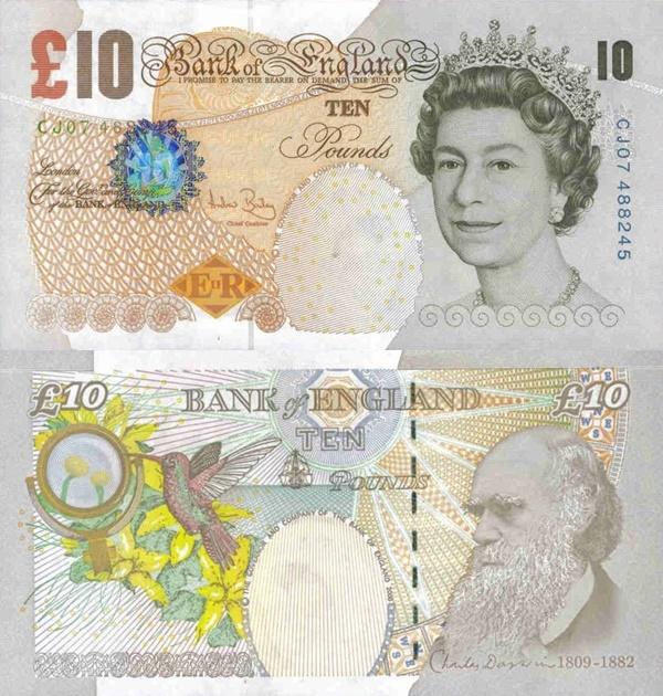Emisiunea ©2000 (2000-2015) - 10 Pounds (Bank of England)
