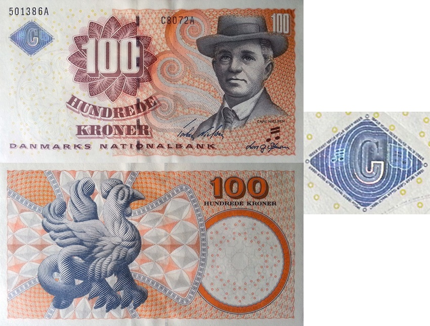 2002-2008 Issue - 100 Kroner