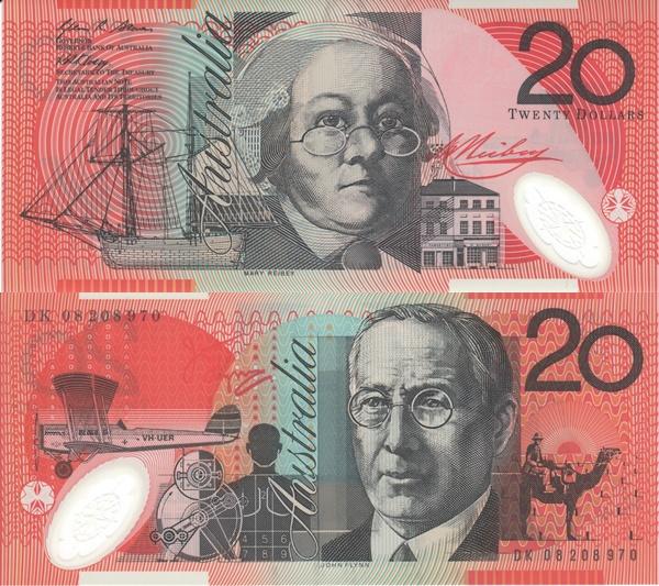 2002-2010 Issue - 20 Dollars