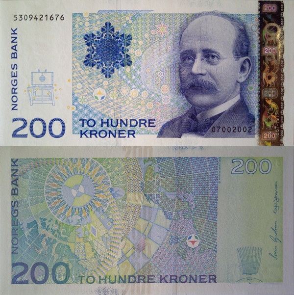 2002-2014 Issue - 200 Kroner