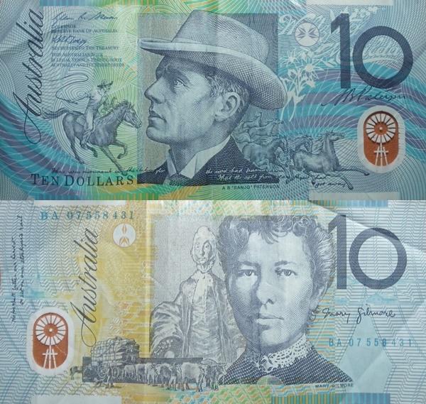 2002-2015 Issue - 10 Dollars
