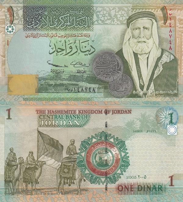 2002-2016 Issue - 1 Dinar