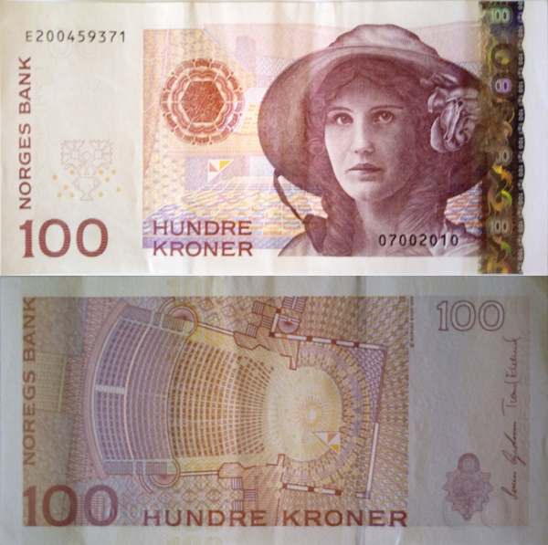 2003-2015 Issue - 100 Kroner