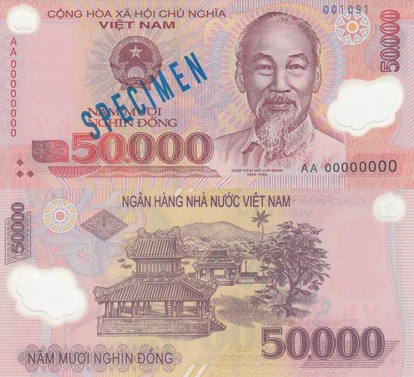 2003-2017 Issue - 50,000 Ðồng