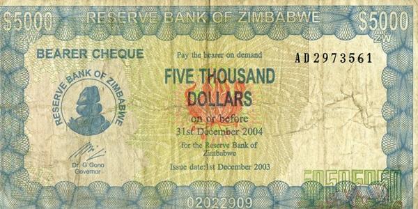 2003 Bearer Checks