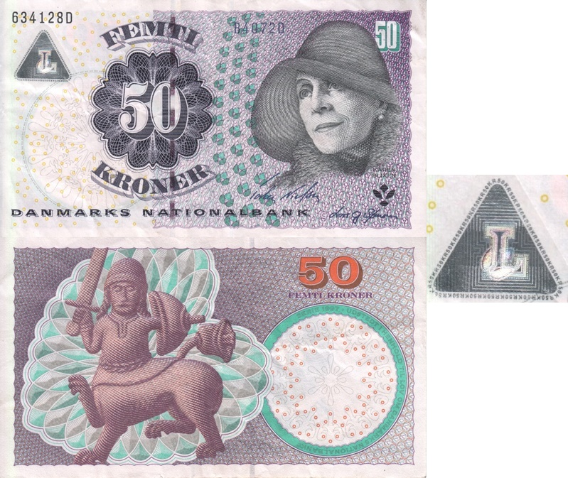 2004-2007 Issue - 50 Kroner