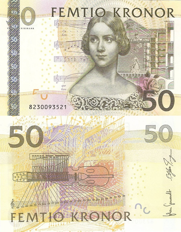 2004-2011 Issue - 50 Kronor