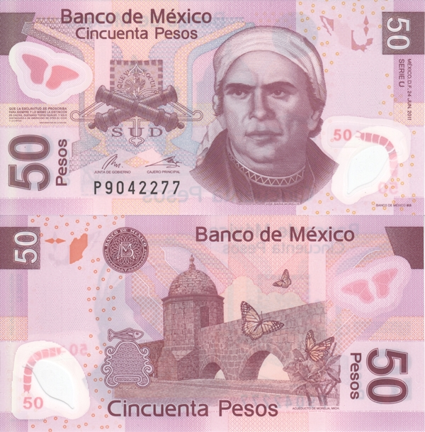 2004-2013 Issue - 50 Pesos