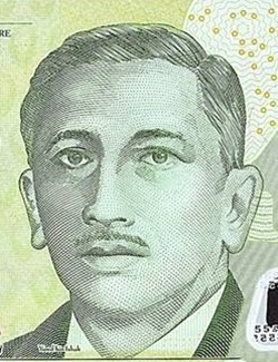 "2004-2015 ND Issue - ""Portret of President Yusof"" (Polymer)"