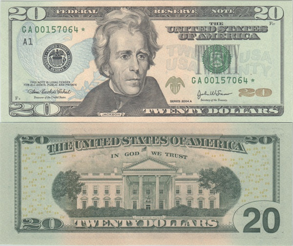 2004 Issue - 20 Dollars