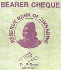 2005-2006 Issue - Bearer Checks