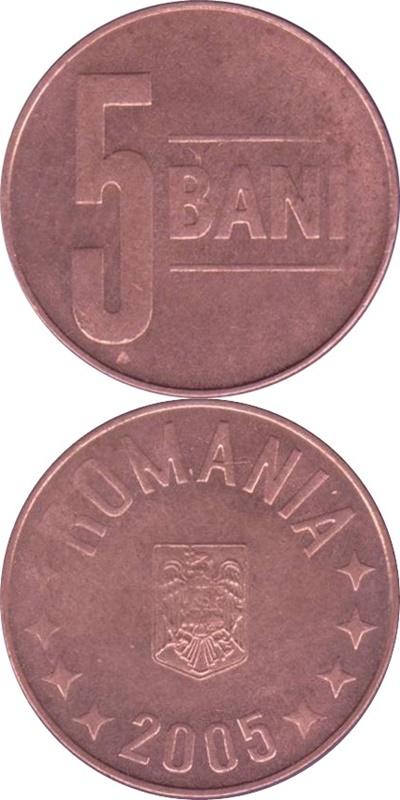 Emisiunea 2005-2017 - 5 Bani