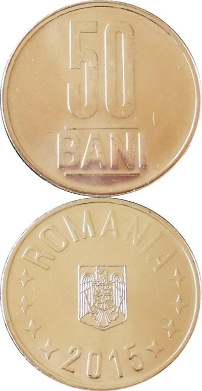 Emisiunea 2005-2017 - 50 Bani