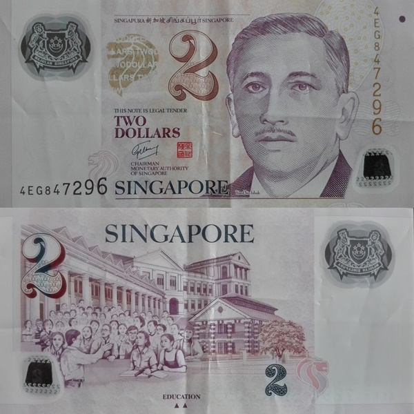 2005 ND SecondIssue - 2 Dollars (Polymer)