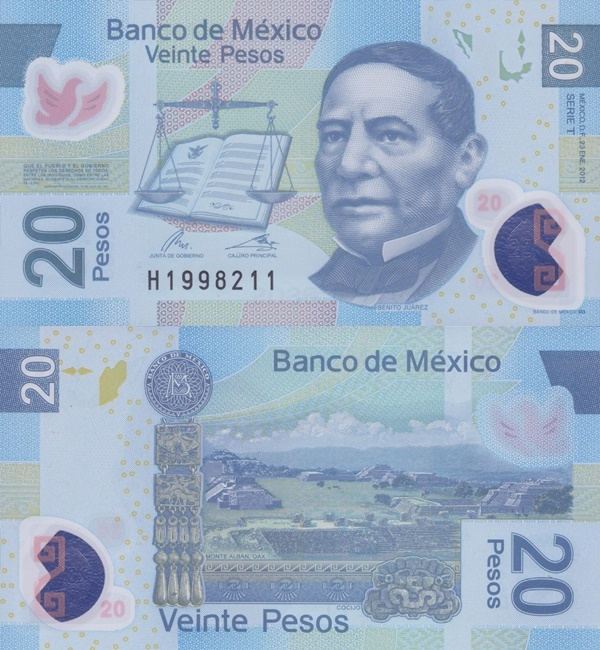 2006-2017 Issue - 20 Pesos