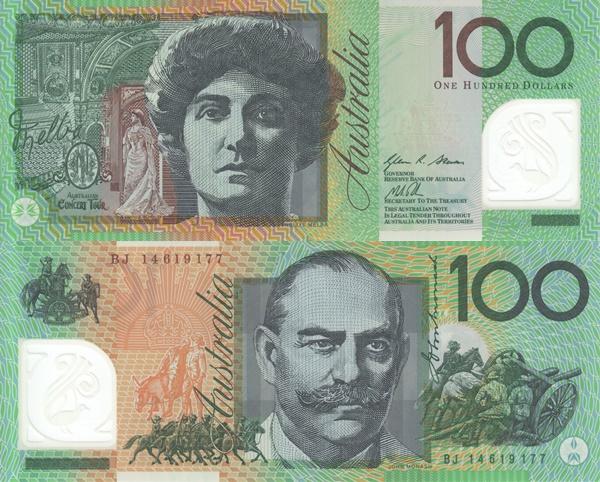 2008-2014 Issue - 100 Dollars