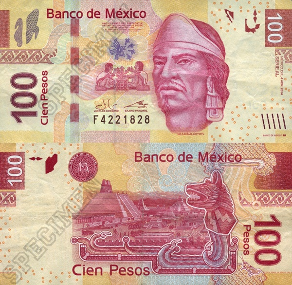 2008-2014 Issue - 100 Pesos