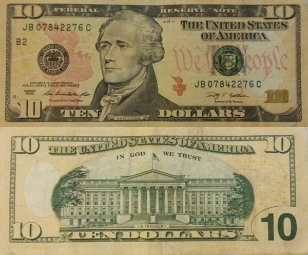 2009 Issue - 10 Dollars